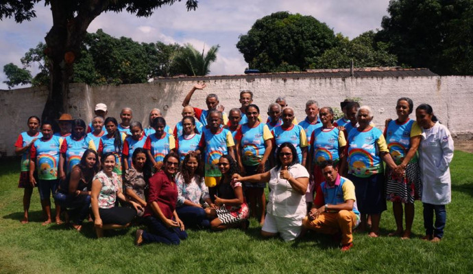 Abertura das atividades do ano letivo de 2018 - Grupo Idoso Feliz - CRAS