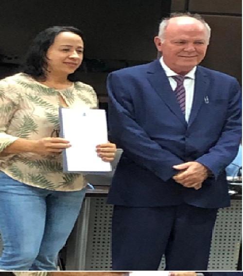 Assinatura do Termo de Cooperação Técnica para Regularização Urbana